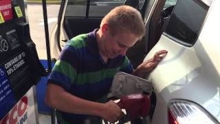 Filling the Tank at Myrtle Beach Costco 8/11/15