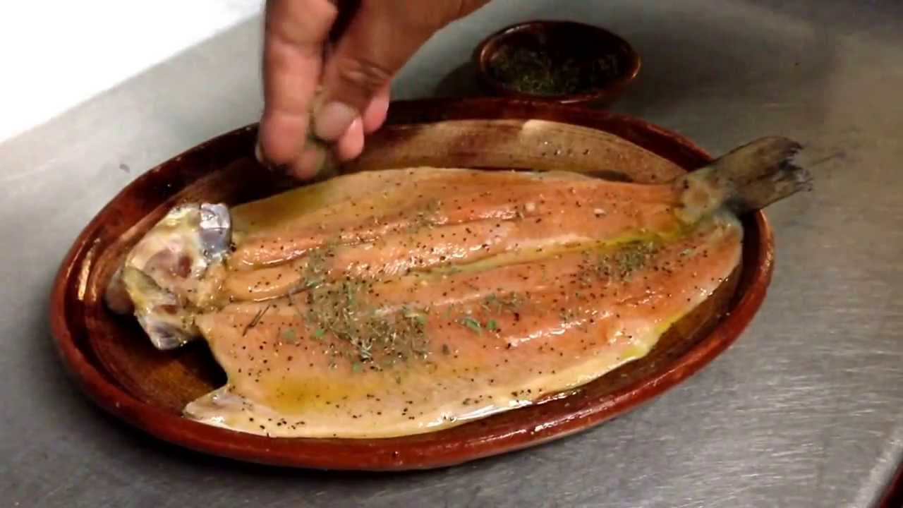 Trucha arcoiris en restaurante do a paca en patzcuaro - Como cocinar la trucha ...