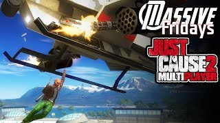 Massive plays Just Cause 2 Multiplayer Mod - Surviving the AIRPORT - Gameplay Livestream