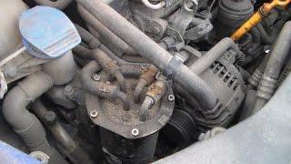 VW Caddy. Zaxira yonilg'i filtri