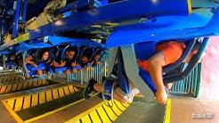 Flying Roller Coaster POV - Manta Flying Coaster