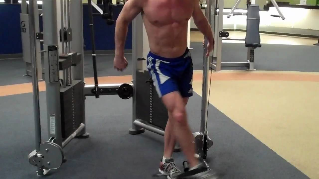 How To: Hip Adduction (LF Cable) - YouTube