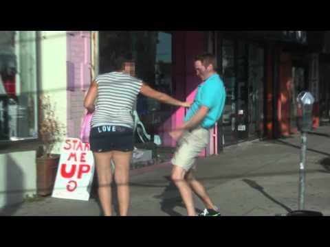 Guy Humps Random Strangers