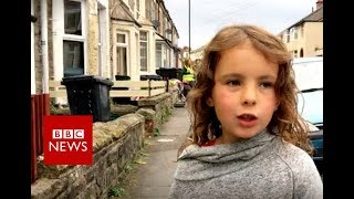 One woman's simple recipe for a happy street - BBC News