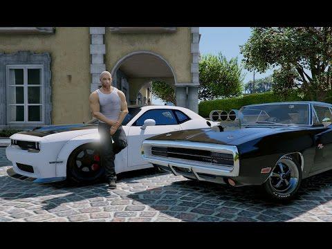 Gta V Vin Diesel In Gta Fast Youtube