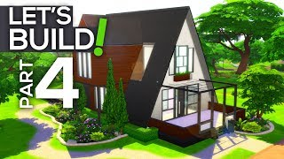 Let's Build a Modern A-Frame House! // Part 4