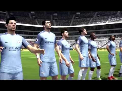 FIFA 17 Barcelona Vs Manchester City Full Gameplay Old Gen PS3 HD