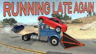 Running Late Again! - BeamNG.drive