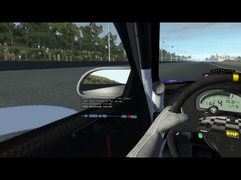 rFactor 2 | SimRacing-GP Race | Flat 6 | Hidden Valley | 28th February 2018 | In VR