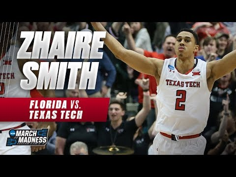 Texas Tech's Zhaire Smith does it all as the Red Raiders advance to the Sweet 16