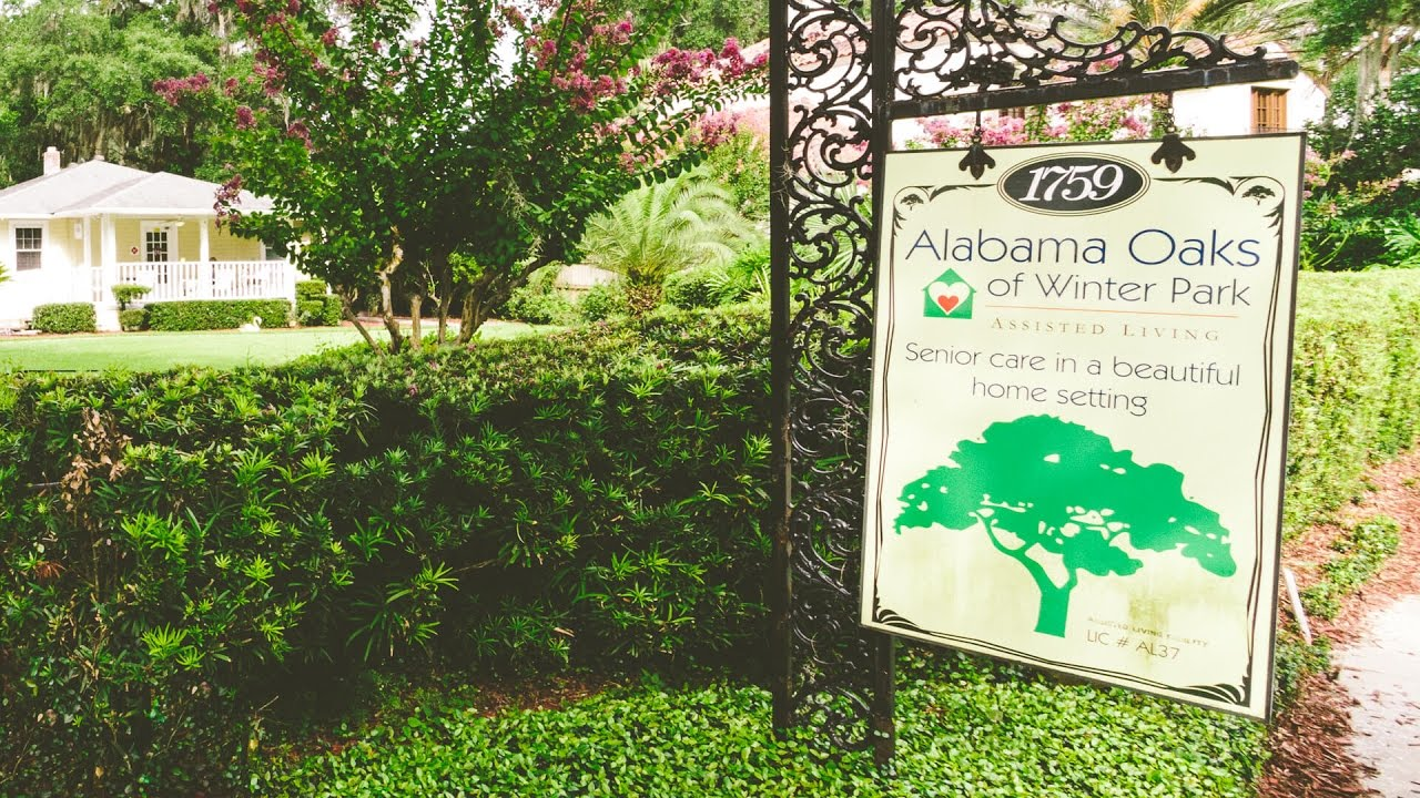 alabama oaks assisted living promotional video youtube