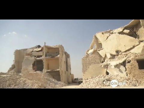 أخبار حصرية - تخوف النازحين من انهيار المباني التي دمرها داعش في ريف حلب  - 21:22-2017 / 10 / 16