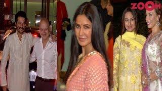 Bollywood Stars Anil Kapoor, Sonakshi Sinha & Katrina Kaif Spotted At Arpita-Aayush's Eid Party