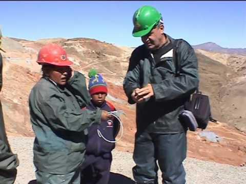 Nelle miniere boliviane