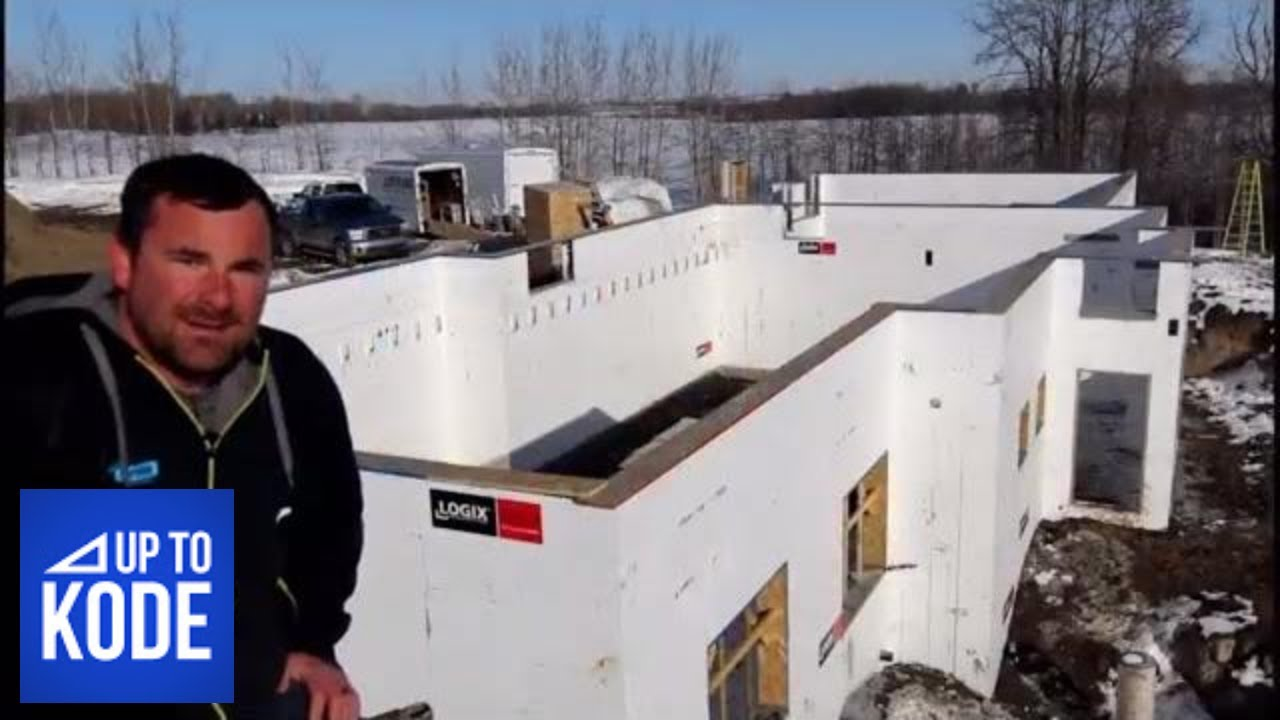 ICF to the Roof : The ONLY Wall System That is Self Supporting Icf Flat Roof House Plan on insulation flat roof, sip flat roof, building a flat roof, concrete flat roof, icf roof systems, icf house roof, icf roof design,