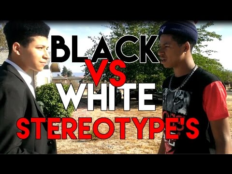 Black People Vs. White People (Stereotypes) - YouTube