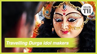 The travelling Durga idol makers