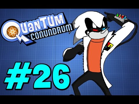 Let's Play Quantum Conundrum part 26 - That's probably not supposed to happen |