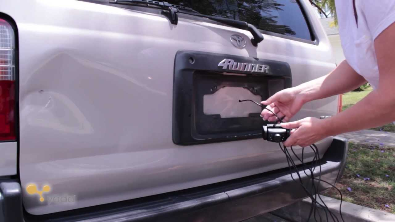 2000 Toyota 4runner Trailer Wiring Diagram For 2 Pin Flasher Relay Yada Back Up Camera Installation No Wireless Transmitter Youtube