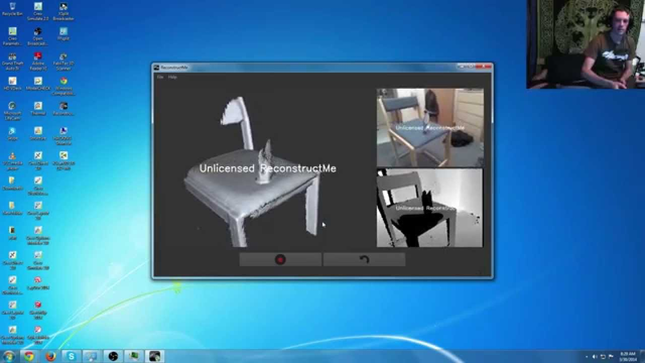 HOW TO (video): Xbox 360 KINECT as 3D SCANNER