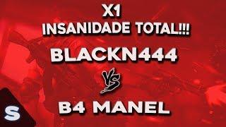 X1 BLACKN444 VS B4 MANEL - SEGURA O CAPA!!