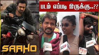 Saaho Public Review | Saaho Movie Review | Prabhas | Shraddha Kapoor | Ghibran | InandOutCinema