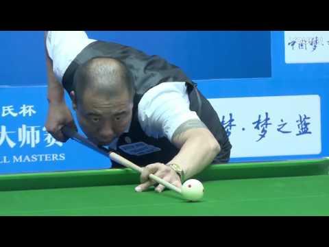 Feng Li VS Chen Wen - World Chinese 8 Ball Masters Tour 2017-2018 Stop 2 Lianyungang
