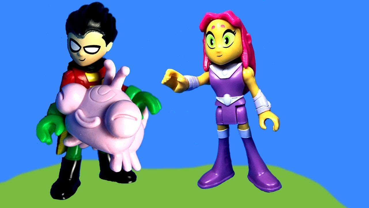 Teen Titans GO Figure! Teeny Titans 2 - Radical Starfire