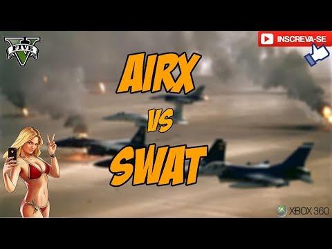 AIRX vs SWAT (x4 jato) - Guerra De Comando