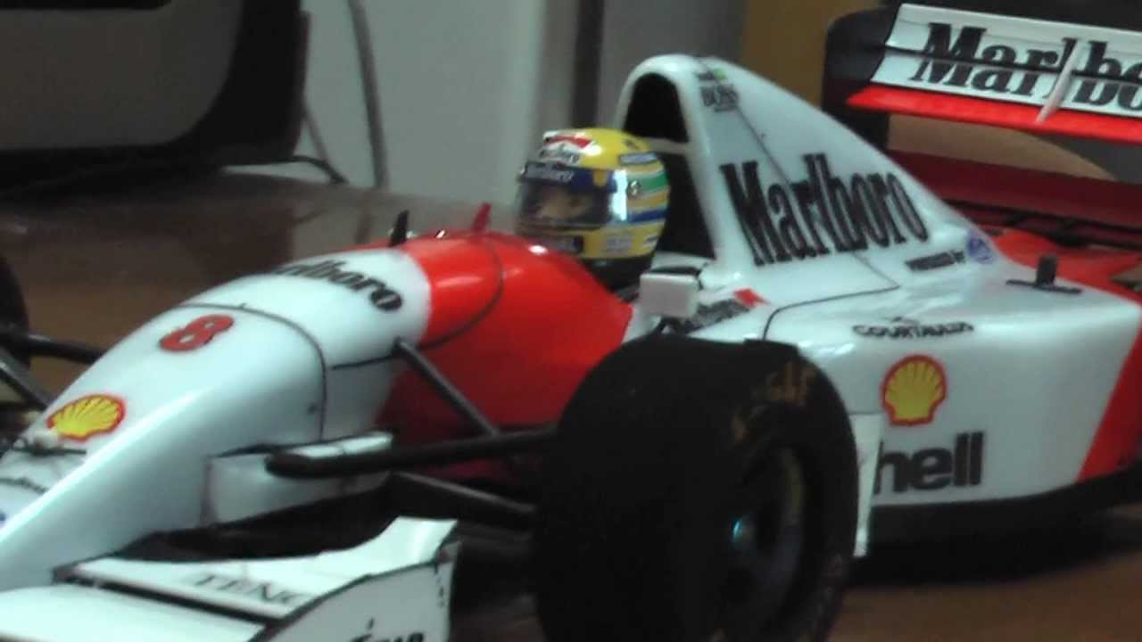 Mclaren Mp4 8 Ford Quot 1993 Quot Tamiya F 1 R C Youtube