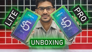 Infinix S5 Lite & Infinix S5 Pro Unboxing & Price in Paksitan | What's the Difference