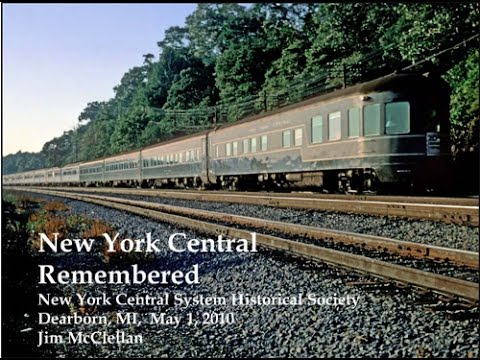 New York Central/Penn Central Railroad History