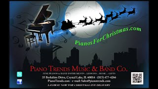 Santa Claus is Coming to Town - piano solo