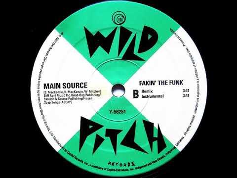 Main Source - Fakin' The Funk (Remix) (Dirty) (1992) (HD Audio)