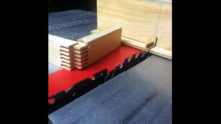Finger Joint Table Saw Jig