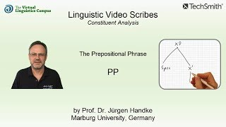Linguistic Video Scribes - Constituent Analysis: The PP