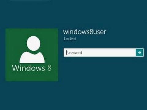 Восстановление пароля Windows 8