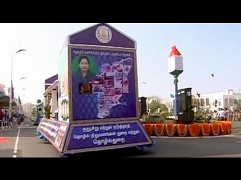 In Chennai, political heat over J Jayalalithaa's lead role in R-Day floats
