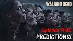 """HEADS ON PIKES DEATH PREDICTIONS! The Walking Dead Episode 9x15 """"The Calm Before"""" (WHO WILL DIE?)"""