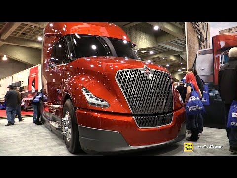 International Navistar Super Truck Catalist - Walkaround - 2017 Expocam Montreal