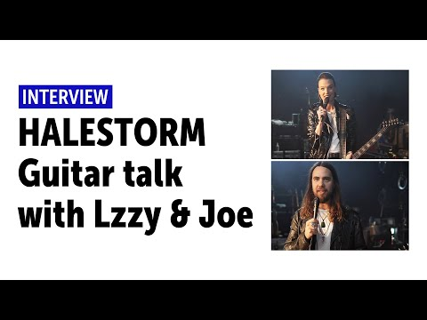 HALESTORM | Guitar Talk On Stage With Lzzy Hale And Joe Hottinger