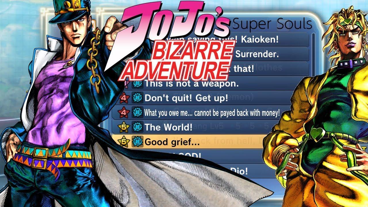 JoJo's Bizarre Adventure Themed Super Souls   Xenoverse Mods