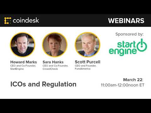How to Launch an ICO 2.0 with Security Tokens - Webinar by CoinDesk
