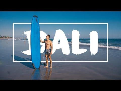 SURFING IN CANGGU, BALI!!
