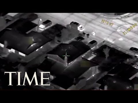See Helicopter Footage Of Sacramento Police Shooting Unarmed Black Man In His Yard 20 Times | TIME