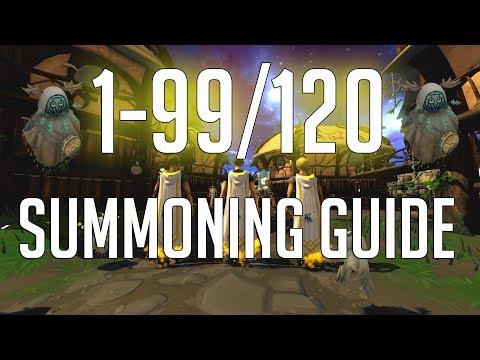 Runescape 3 - 1-99/120 Summoning Guide 2018