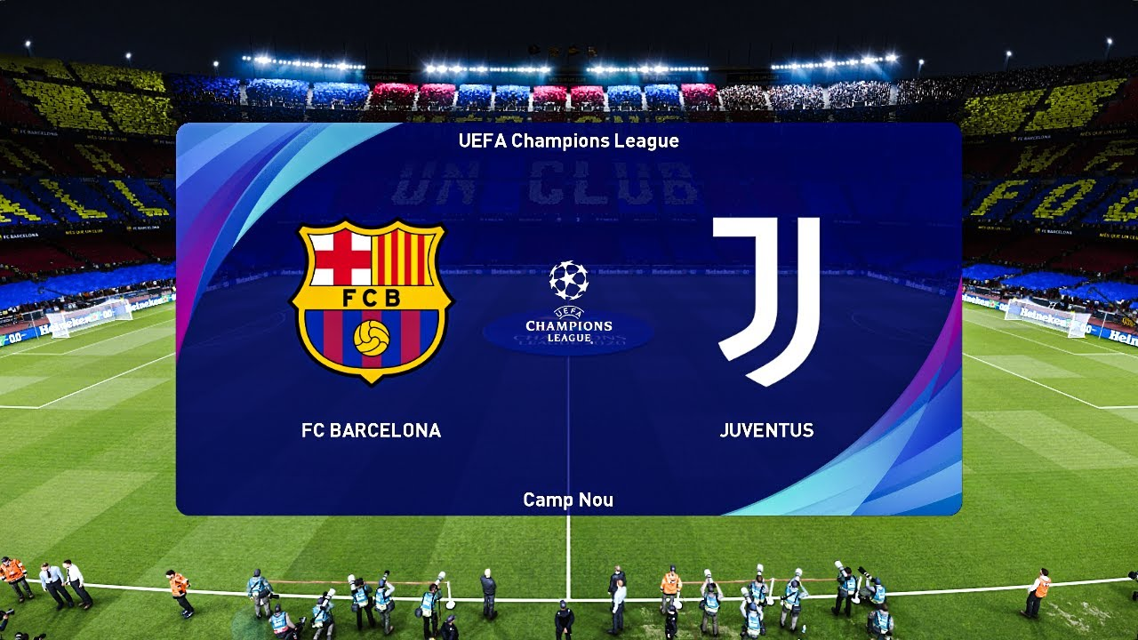 Barcelona Vs Juventus Uefa Champions League 2020 21 Gameplay Youtube