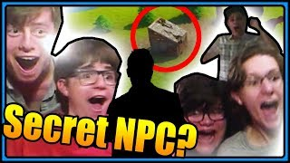 We found a SECRET NPC in FORTNITE?