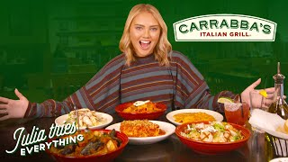 Trying 34 Of The Most Popular Menu Items At Carrabba's Italian Grill