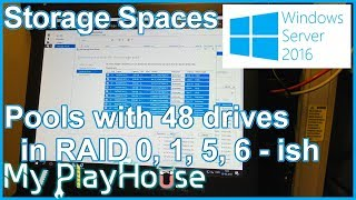 windows Storage Spaces and Storage Pools on Server 2016 - 658